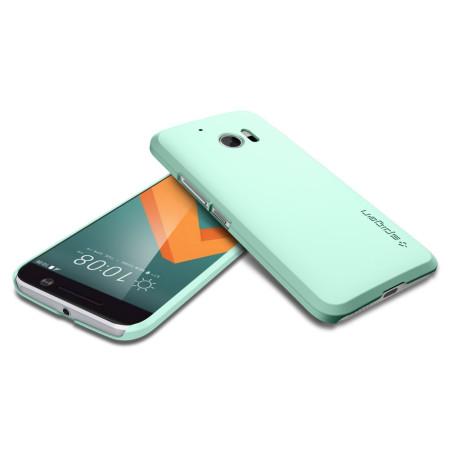 spigen thin fit htc 10 case mint green chosen because: Good