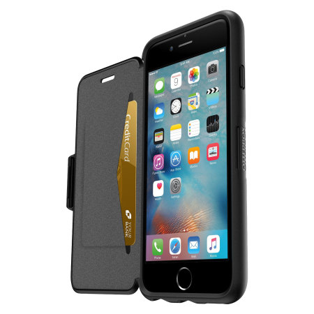 OtterBox Symmetry iPhone 6S / 6 Folio Wallet Case - Black