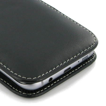 pdair samsung galaxy s7 edge leather pouch case with belt clip just