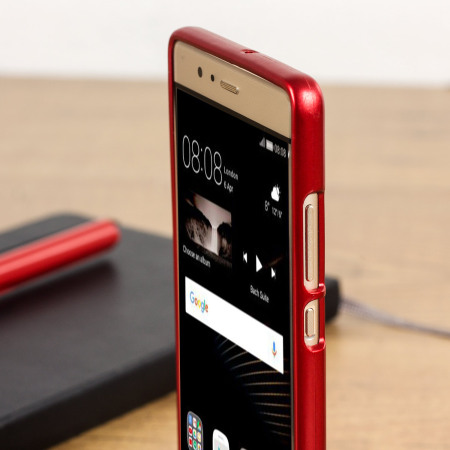 huawei p9 coque rouge