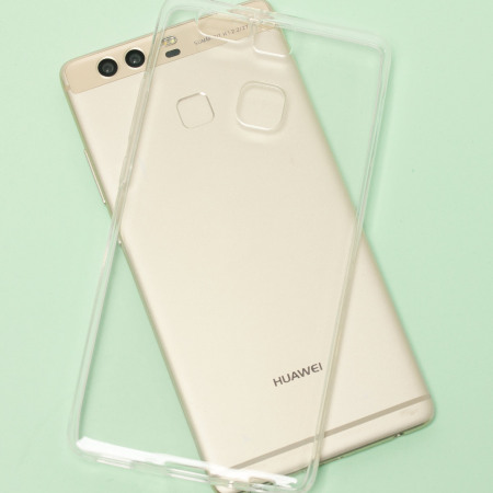 Olixar FlexiShield Huawei P9 Gel Case - 100% Clear