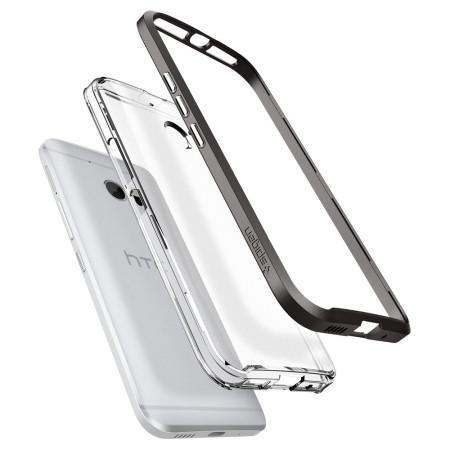 spigen neo hybrid crystal htc 10 case gunmetal clear introduced multi-touch