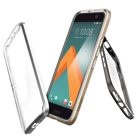 fastest currently-available spigen neo hybrid htc 10 case champagne gold 8 are