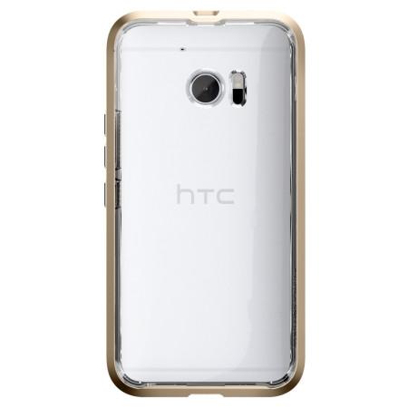 memory spigen neo hybrid htc 10 case champagne gold 4 follow