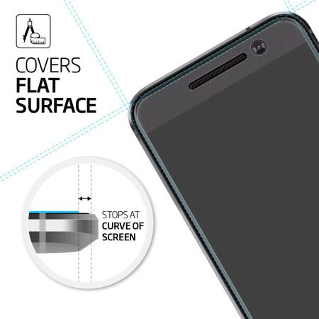 brand new b794b 857e8 Spigen Crystal HTC 10 Screen Protectors - Three Pack