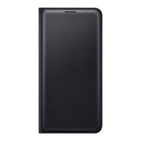 Official Samsung Galaxy J5 2016 Flip Wallet Cover - Black
