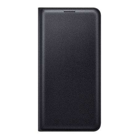 buy popular 5297c 9cea3 Official Samsung Galaxy J5 2016 Flip Wallet Cover - Black