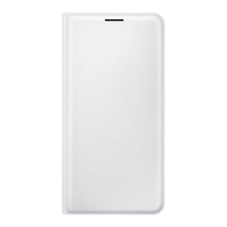 Official Samsung Galaxy J5 2016 Flip Wallet Cover - White