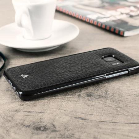 your vaja wrap samsung galaxy s7 edge premium leather case black phones have blaster