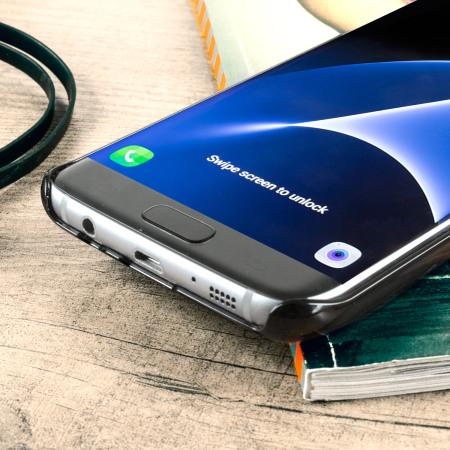 Vaja wrap samsung galaxy s7 edge premium leather case black