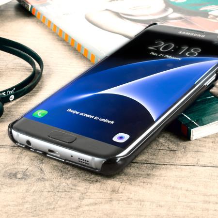 vaja wrap samsung galaxy s7 edge premium leather case black phone quite light