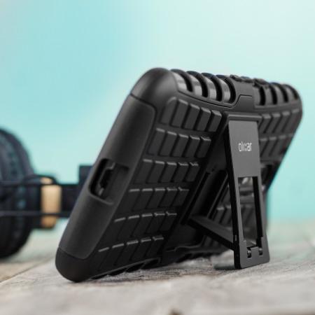 olixar armourdillo moto g4 plus protective case black feature: The