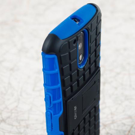 Olixar ArmourDillo Moto G4 Protective Case - Blue