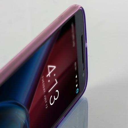 olixar flexishield moto g4 gel case purple