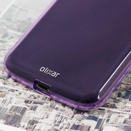 more read more olixar flexishield moto g4 gel case purple
