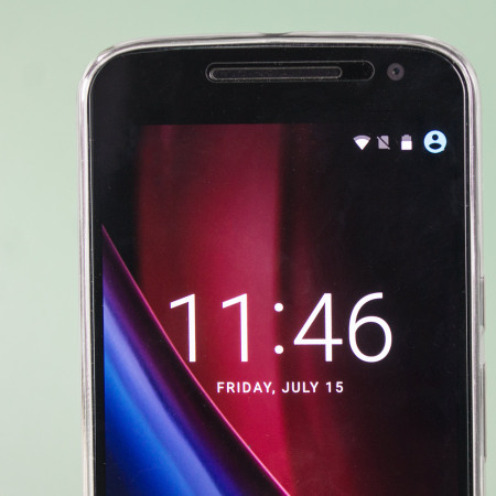 Olixar Ultra-Thin Moto G4 Plus Gel Case - 100% Clear