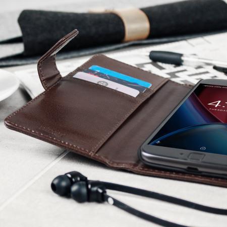 piece network olixar genuine leather moto g4 plus wallet stand case brown reviews Frankenstein