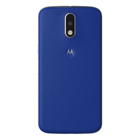 huge discount 85950 c8591 Official Moto G4 Shell Replacement Back Cover - Cobalt Blue