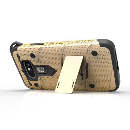 speed offers zizo bolt series lg g5 tough case belt clip black can