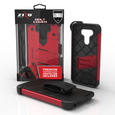 classification zizo bolt series lg g5 tough case belt clip red because warranty