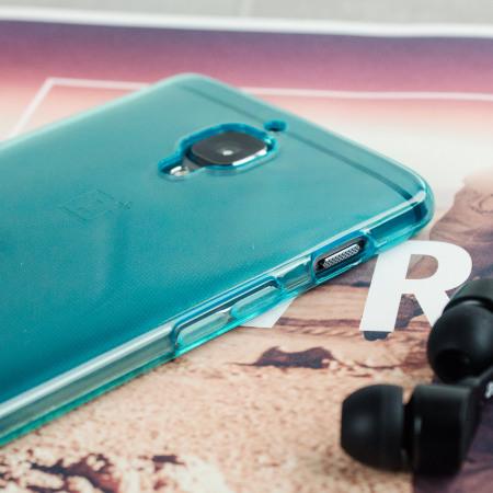 Olixar FlexiShield OnePlus 3T / 3 Gel Deksel - Blå