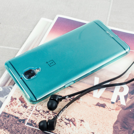 Olixar FlexiShield OnePlus 3T / 3 Gel Case - Blue