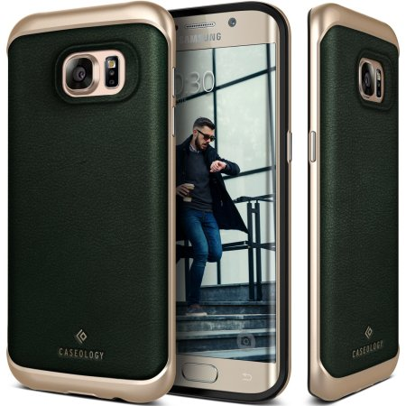 need caseology envoy series galaxy s7 edge case green leather should noted