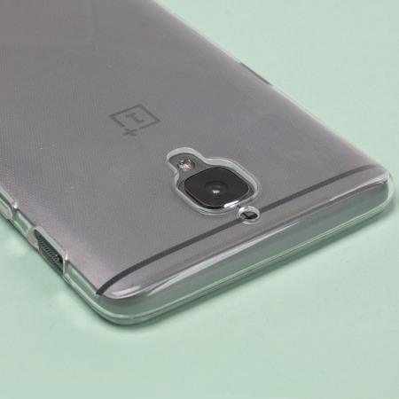 quality design 21507 a8744 Olixar FlexiShield OnePlus 3T / 3 Gel Case - 100% Clear