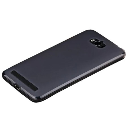 Olixar FlexiShield Asus Zenfone Max Gel Case - Smoke Black