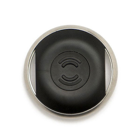 Biisafe Buddy V3 Smart Button Location Tracker Device - Black