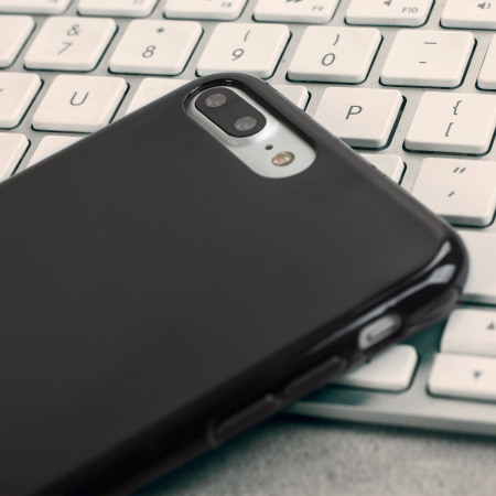 avail olixar flexishield iphone 7 plus gel case jet black processor and