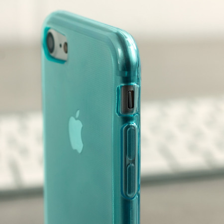 Olixar FlexiShield iPhone 8 / 7 Gel Case - Blue