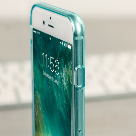 FlexiShield iPhone 8 / 7 Gel Hülle in Blue