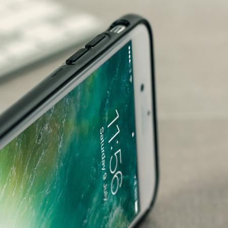 Olixar FlexiShield iPhone 8 / 7 Gel Case - Jet Black