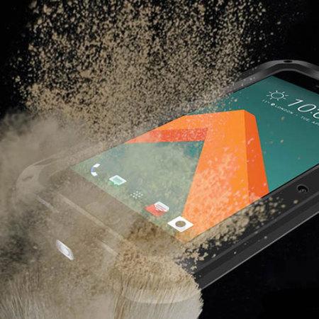 Love Mei Powerful HTC 10 Protective Case - Black