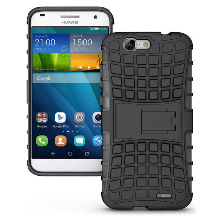 Olixar ArmourDillo Huawei Ascend G7 Tough Case - Black