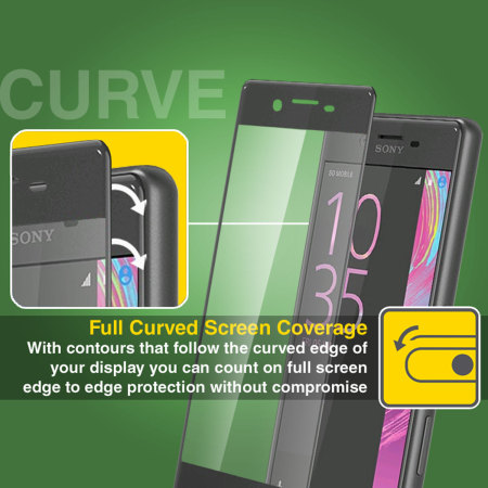 olixar sony xperia x performance curved glass screen protector Time Offer Monoprice