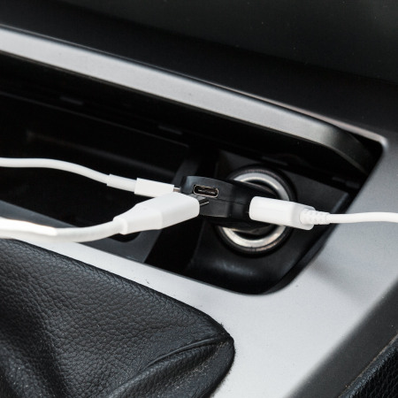 Chargeur voiture USB-C et double USB Promate 8.4A Charge rapide