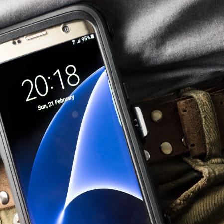 OtterBox Defender Series Samsung Galaxy S7 Edge Case - Black