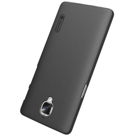 best website 679ca f397a Nillkin Super Frosted Shield OnePlus 3T / 3 Case - Black
