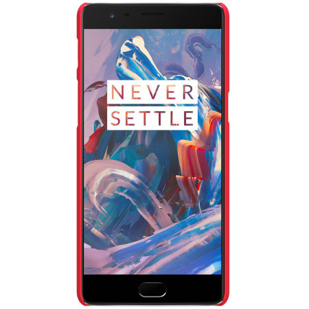 Nillkin Super Frosted Shield OnePlus 3T / 3 Case - Red