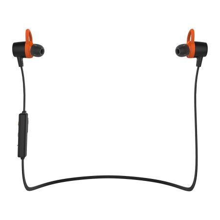 ScienceNg motorola verveloop wireless bluetooth earbuds black orange Felix