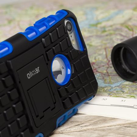 olixar armourdillo iphone 7 protective case blue 6 moreit crucial first