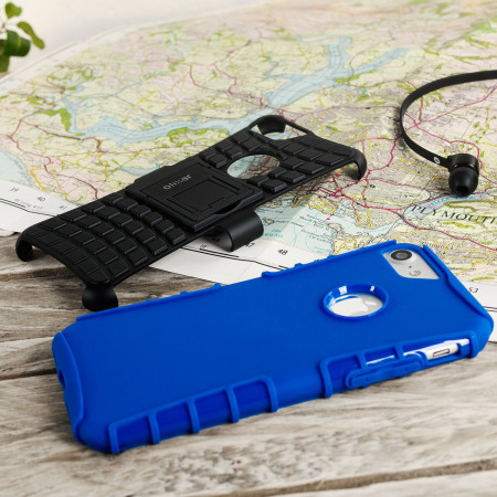 Olixar ArmourDillo iPhone 7 Protective Case - Blue