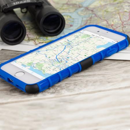 smartphone zte v870 olixar armourdillo iphone 7 protective case blue 9 stylish grey