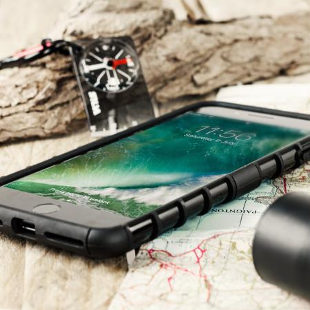 beach, united olixar armourdillo iphone 7 plus protective case black