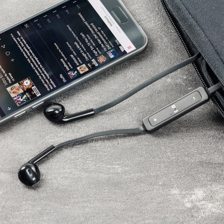 Plug N Go Handsfree Bluetooth Earphones - Black