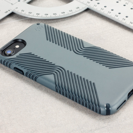 Speck Presidio Grip iPhone 7 Tough Case - Grey