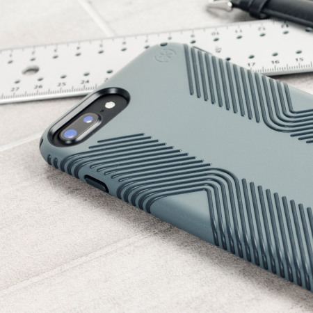 Speck Presidio Grip iPhone 7 Plus Tough Case - Grey