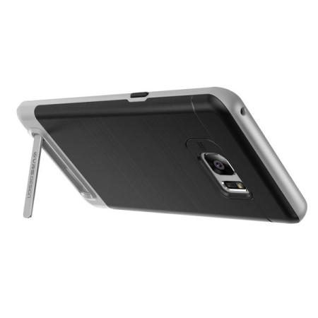 VRS Design High Pro Shield Samsung Galaxy Note 7 Case - Light Silver